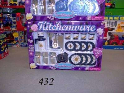 Keuken gerij set 83165; 2 assortie