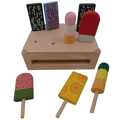 IJslollie set; met 8 ijsjes