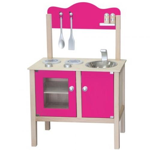 Keuken blank / hard roze; Bladh: 48 CM (gv)