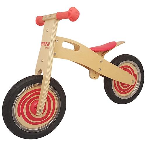 Loop fiets rood Simply; anti-lek band met foam vulling