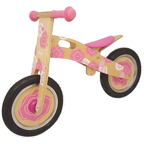 Loop fiets roze Simply; anti-lek band met foam vulling