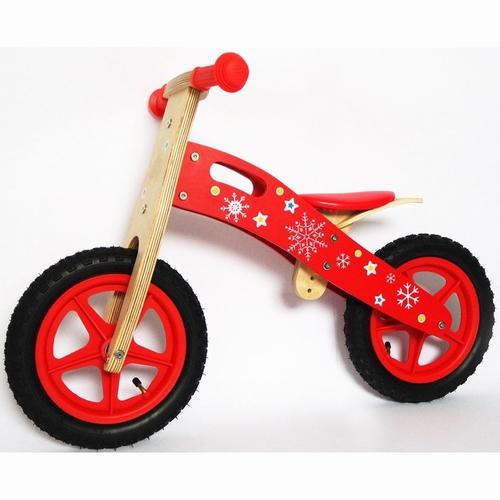 Loop fiets rood