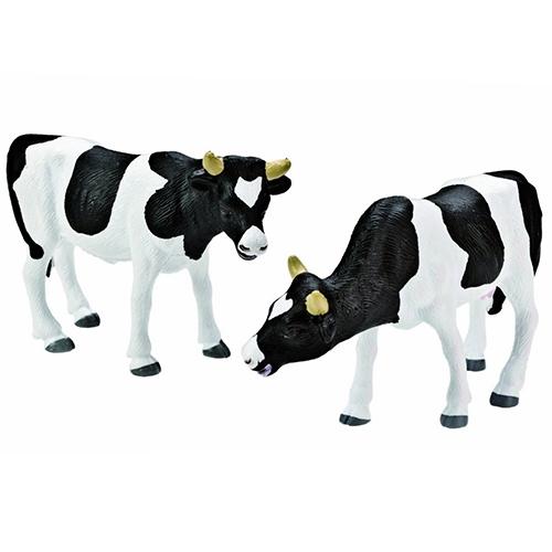 Koe zwart/wit staand set van 2; 571873