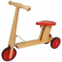 Loop fiets / Step rood
