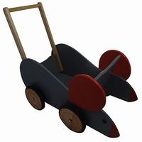 Poppenwagen muis