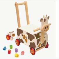 Loopwagen koe; I'm Toy 87130