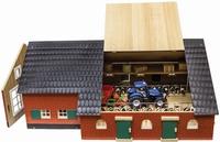 Boerderij met stal (exclusief accessoires); 610111