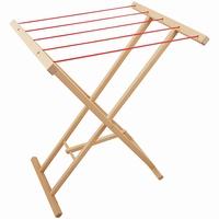 Droogrek / Wasrek met rode touwen; Playwood