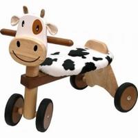 Loopfiets koe; I'm Toy 80004