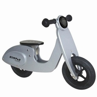 Scooter zilver Simply